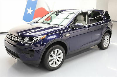 2016 Land Rover Discovery  2016 LAND ROVER DISCOVERY SE AWD TURBO NAV REAR CAM 23K #594331 Texas Direct