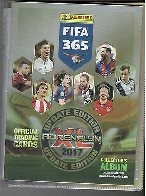 Panini Adrenalyn XL Fifa 365 2017 Update Collector's Album Binder new