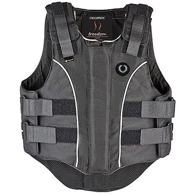 Champion Ladies Freedom Zip Body Protector Small Regular End Of Line Clearance