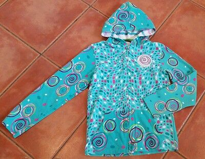 Girls Soft Jersey Cotton  Hoodie age 8 years - MINT CONDITION!!!