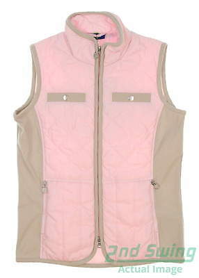New Womens Daily Sports Golf Vest Small S Pink MSRP $140