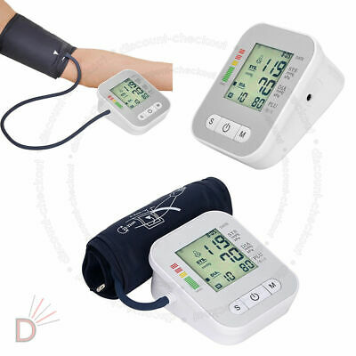 New Automatic Digital Blood Pressure Monitor 180 Memory Upper Arm Intellisense