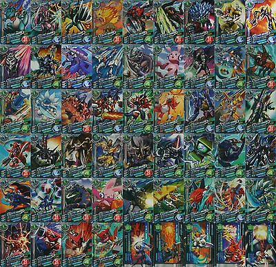 Bandai Digimon Fusion Xros Wars Data Carddass SP ED 1 Normal Card Set of 54