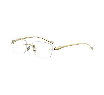 Cartier Balica 50 Panthere Eyewear Polished Gold Oro Glasant T8101033