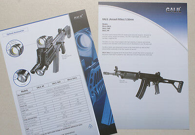 "1 Brochure ""Galil Assault Rifle"", as on picture"