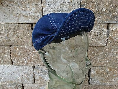 Vintage Denim A3 Mechanic Cap M1937 Lutece MFG US Army Navy Heritage Rugged Wear