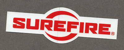 SURFIRE sticker (as on picture)