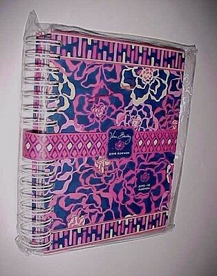 Vera Bradley Recycled Paper Boards Katalina Pink Agenda 2015-16 New