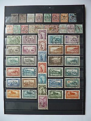 FRENCH MOROCCO :- 1891 - 1939 : Mint & Used selection.