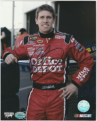 CARL EDWARDS  NASCAR  Hand Signed Autographed 8 X10 PHOTO W/COA