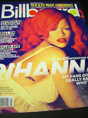 RIHANNA Beauty BB Cover PROMO POSTER AD no mail label!