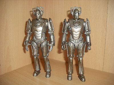 Doctor Who Cyberman Action Figures 1963 Version Corroded X2