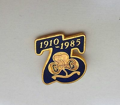 Uk Girl Guides: 1985 ~ 75Th Anniversary Of Girlguiding Pin Badge