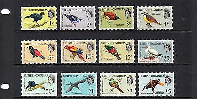 British Honduras 1980 set SG 202-13 fine mint. Cat £80