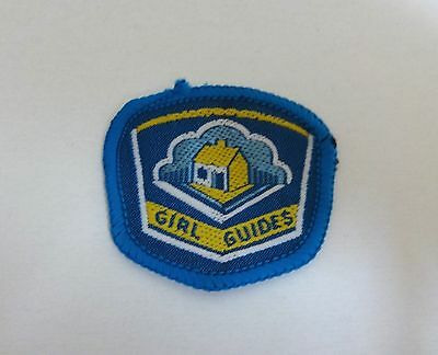 Uk Girl Guides: Mint Pre 1994  Little House Collective Emblem Badge/patch