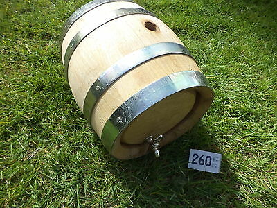 Brewery small  oak wooden barrel with tap