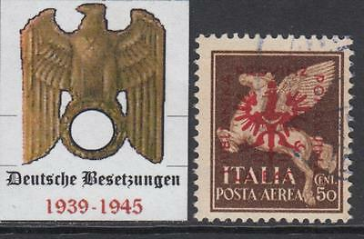 GERMANY REICH - 1944 occup (DT Besetzung) LUBIANA-LAIBACH Mi 22 cv 200$ used