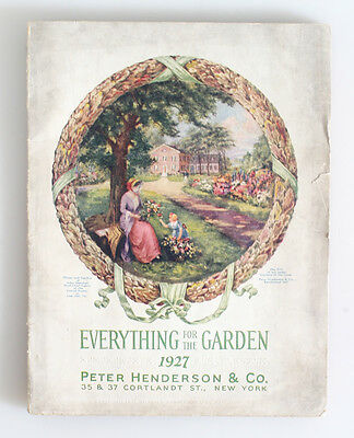 Peter Henderson And Co 1927 Seed Catalog