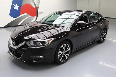 2016 Nissan Maxima  2016 NISSAN MAXIMA 3.5 S NAVIGATION REARVIEW CAMERA 28K #431077 Texas Direct