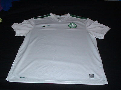 Celtic Scotland Football XL Extra Large Mans European Nike Made Third Jersey