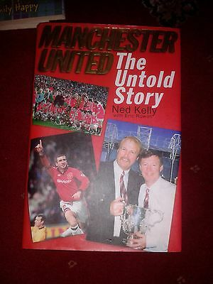Manchester Utd The Untold Story HAND SIGNED book