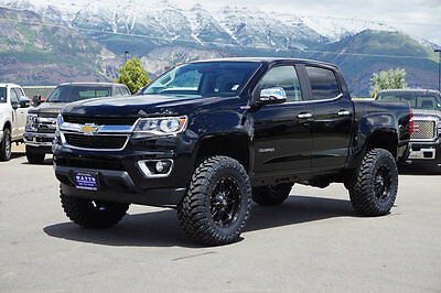 2017 Chevrolet Colorado  CHEVY CREW CAB 4X4 DURAMAX DIESEL LEATHER NAVI CUSTOM NEW LIFT WHEELS TIRES AUTO