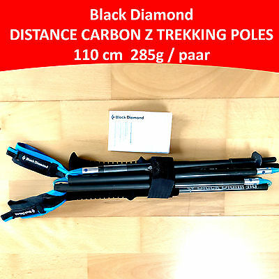 BLACK DIAMOND DISTANCE CARBON Z TREKKING POLES (110CM) Trekkingstöcke