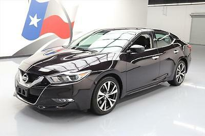 2016 Nissan Maxima  2016 NISSAN MAXIMA 3.5 S BLUETOOTH NAV REAR CAM 25K MI #440441 Texas Direct Auto