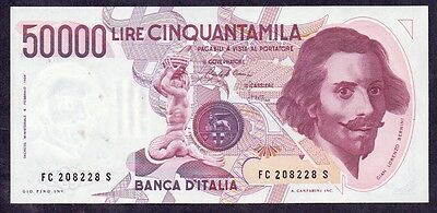 50000 Lire From Italy 1984 Unc