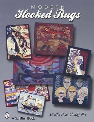 Modern Hooked Rugs Collectors Reference - Wool Folk Art, Floral Icons & More
