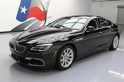 2016 BMW 6-Series  2016 BMW 640I GRAN COUPE SUNROOF NAV BROWN LEATHER 29K #432236 Texas Direct Auto