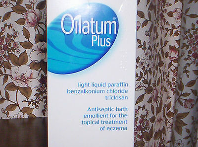 NEW Oilatum Plus Bath Emollients 500ml Eczema Dermatitis soothing