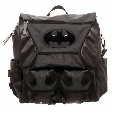 Batman Costume Inspired Utility Bag Crossbody Messenger Laptop Case
