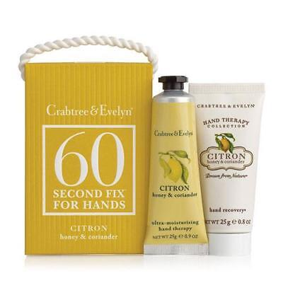 Crabtree & Evelyn 60 Second Fix Kit For Hands - Citron Mini