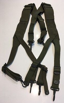 Vietnam War Era US Army M1944 Field Pack Suspenders Complete Dated 1950's