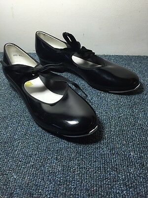 designs for dancing Size 8.5 m tap Dance Shoes Black Manmade 8 1/2 M