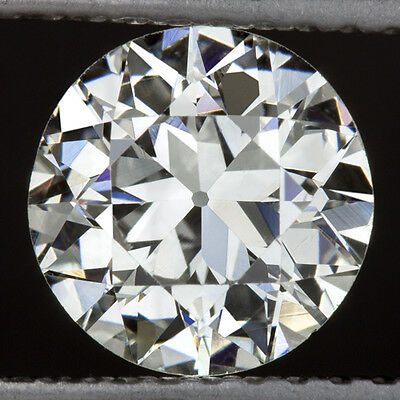 1.17ct VINTAGE OLD EUROPEAN CUT DIAMOND H SI1 EGL-USA CERTIFIED LOOSE 1ct 7mm