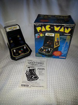 1981 Midway/Coleco-Canadian PAC-MAN TABLETOP MINI ARCADE GAME-BILINGUAL-NMIB