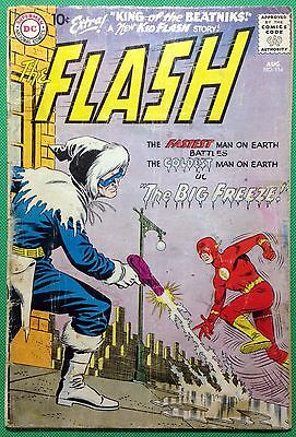 FLASH (1959) #114 FR/GD (1.5) Captain Cold cover