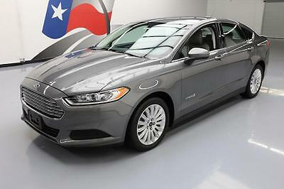 2014 Ford Fusion S Hybrid Sedan 4-Door 2014 FORD FUSION S HYBRID SEDAN CRUISE CTRL ALLOYS 39K #195428 Texas Direct Auto
