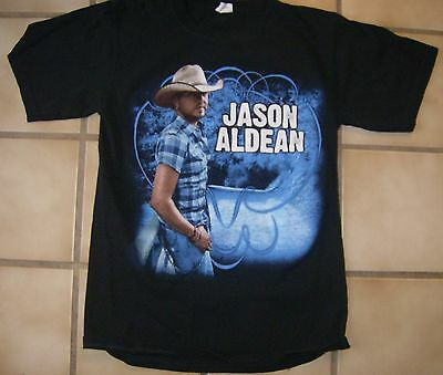 Jason Aldean My Kinda Party 2011 Tour Two-Sided T-Shirt !!! Small