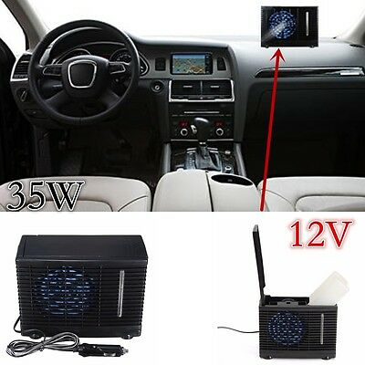 Evaporative Air Conditioner 12V Portable Car&Home Cooler Cooling Fan Water Ice