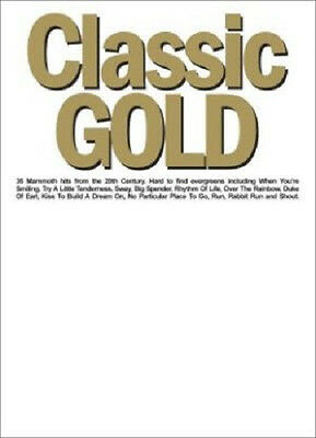 Classic Gold Piano Vocal Guitar Hit Song Book Rrp$33* Less Than Half Price New