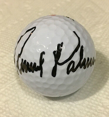 Arnold Palmer Authentic Autographed -- Signed Titleist Golf Ball   (D-2016)