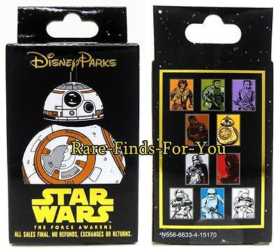 """Disney Parks Star Wars """"Force Awakens"""" 2-Pin Mystery Box Set Booster Pack (NEW)"""