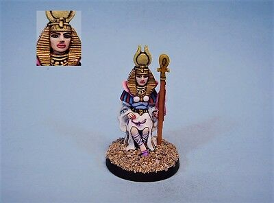Ral Partha painted miniature cute Cleopatra (30 day listing)