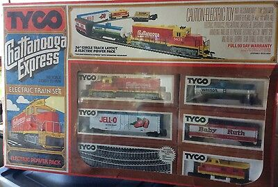 Vintage Tyco Chattanooga Express HO Electric Train Set Ready To Run SEALED