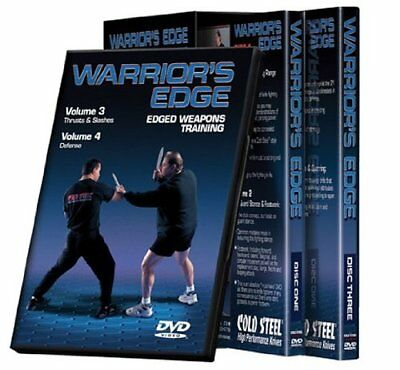 Cold Steel VDWEP Warrior's Edge DVD set DVD