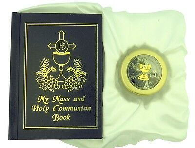 My Mass and Holy Communion Missal and Rosary First Communion Gift Set for Boys
