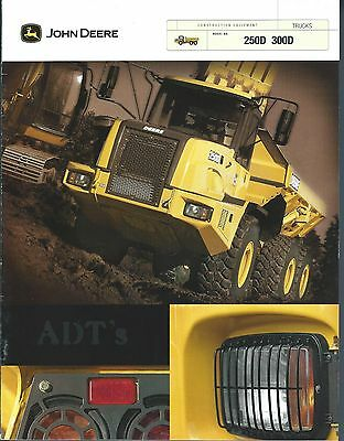 Equipment Brochure - John Deere 250D 300D Articulated Dump Truck c2002 (E3763)